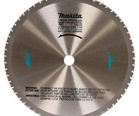 "12"" x 76 Tooth Carbide-Tipped Metal-Cutting Saw Blade"