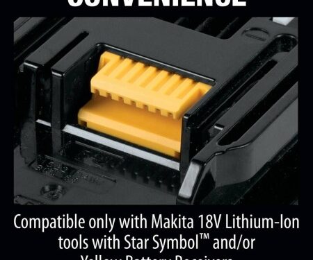 18V LXT Lithium-Ion 6.0 Ah Battery Convenience