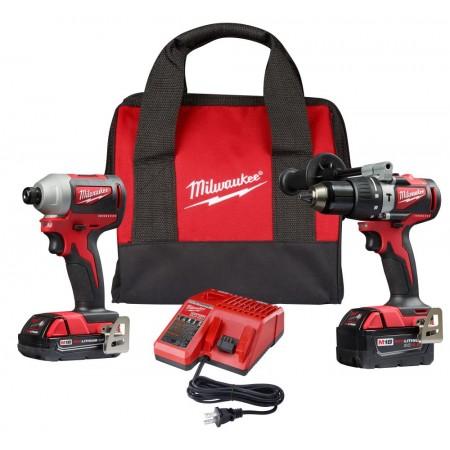 Milwaukee Brushless Hammer Drill Impact Driver Combo Kit