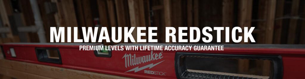 Milwaukee REDSTICK Levels