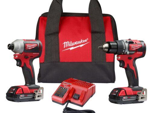 Milwaukee 2892-22CT M18 Compact Brushless 2-Tool Combo Kit
