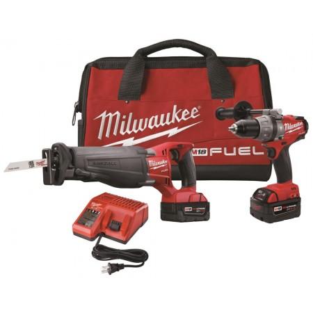 Milwaukee 2 tool combo kit (4 Ah)