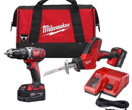 Milwaukee 2 tool cordless combo kit (3 Ah)