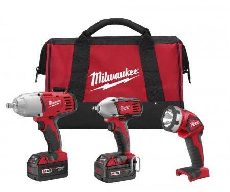 Milwaukee impact wrench combo kit
