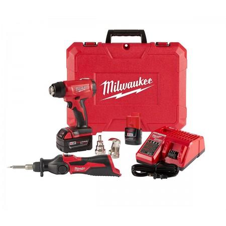 Milwaukee heat gun and soldering lron kit