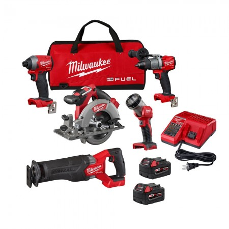Milwaukee 5 tool combo kit