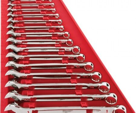 15-Piece SAE Combination Wrench Set