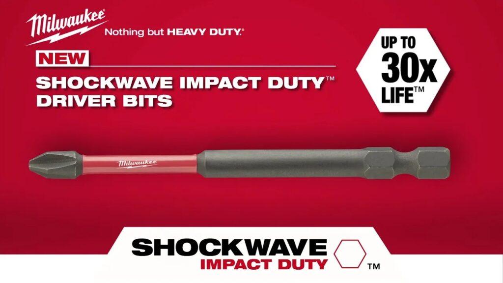 Milwaukee SHOCKWAVE Impact Duty Driver Bits