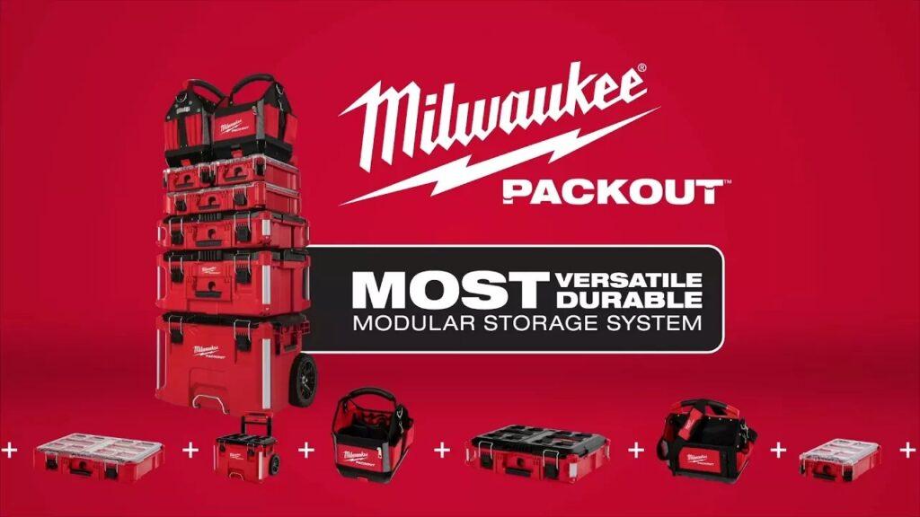 Milwaukee PACKOUT Modular Storage System
