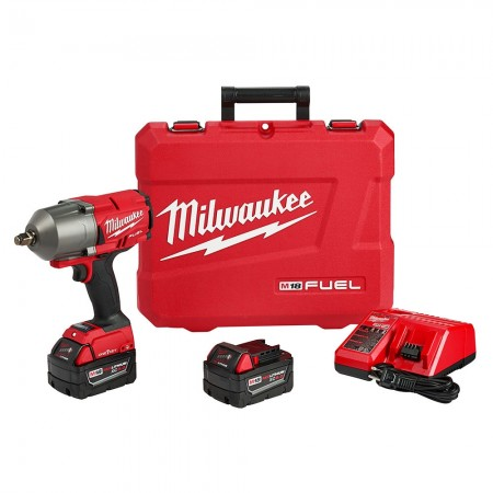 """M18 FUEL w/ONE-KEY High Torque 1/2"""" Impact Wrench Kit with Friction Ring"""