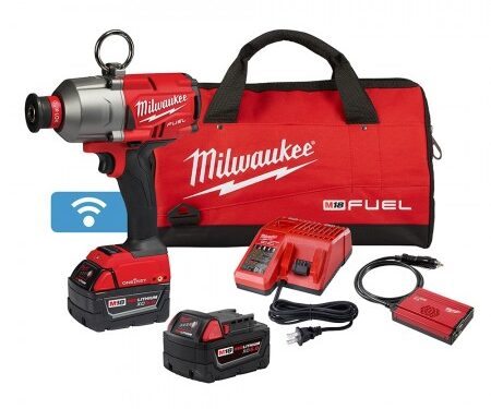 Milwaukee hex utility HTIW kit with compact batteries