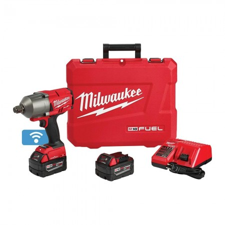 Milwaukee high torque impact wrench kit w/ friction ring