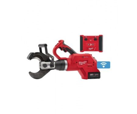 Milwaukee underground cable cutter with wireless remote