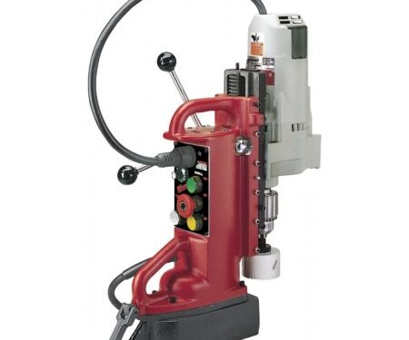 milwaukee position electromagnetic drill w/ moter