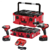 Milwaukee PACKOUT Impact and Drill Bundle Kit