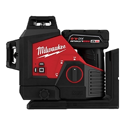 Milwaukee laser battery